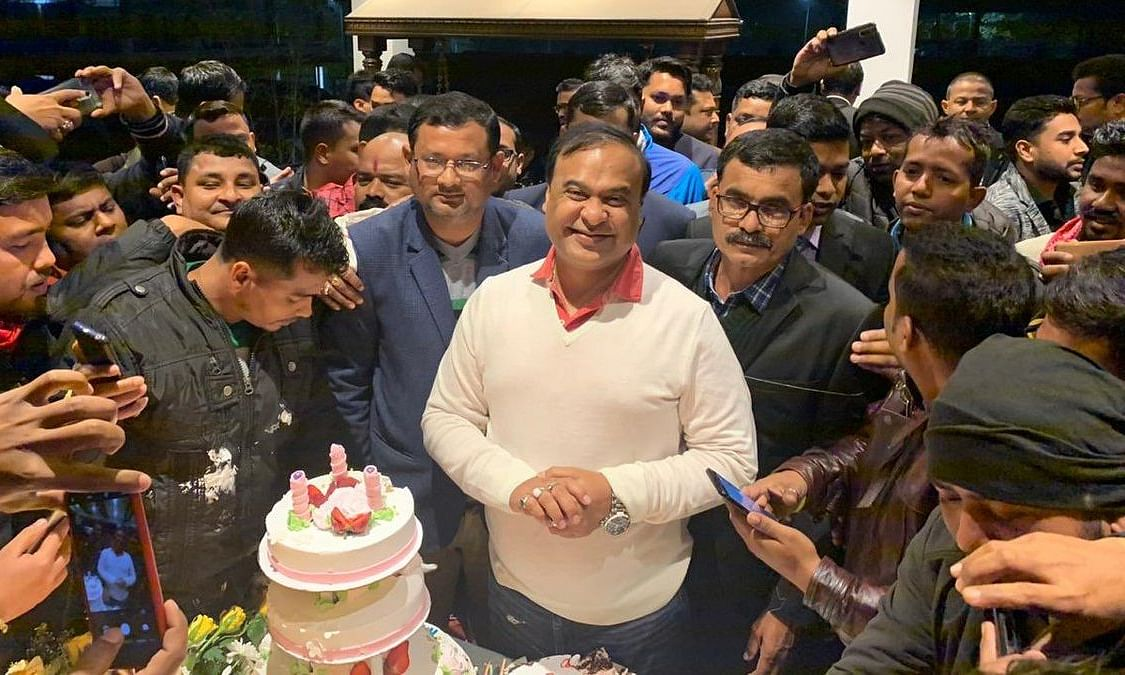 Find out how Assam FM Himanta Biswa Sarma celebrated his birthday
