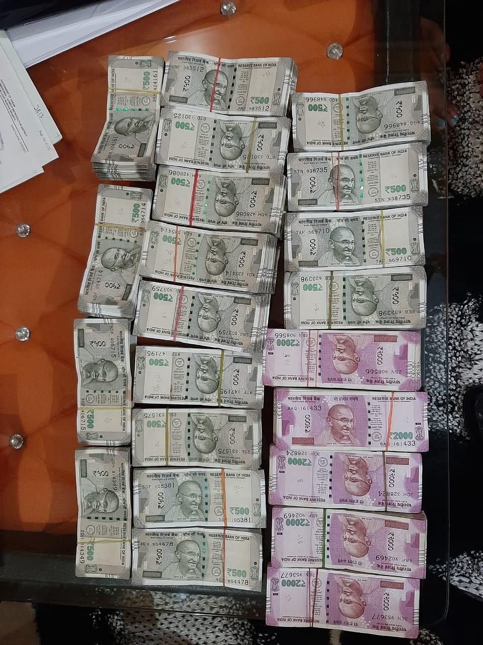 Rs 18.46 lakh in cash was recovered from the residence of the arrested accused at Kalapahar in Guwahati