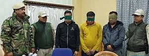 The three accused carried out extortion drives in the name of KCP