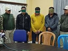 3, including outlawed KCP leader from Manipur, held in Bengaluru