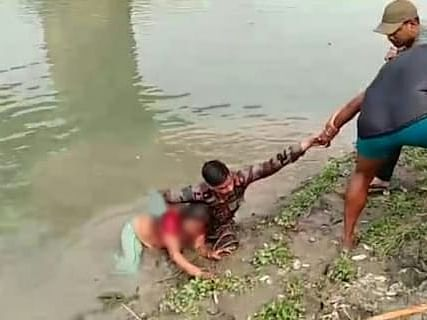 How Army soldiers saved a woman from drowning in Assam river