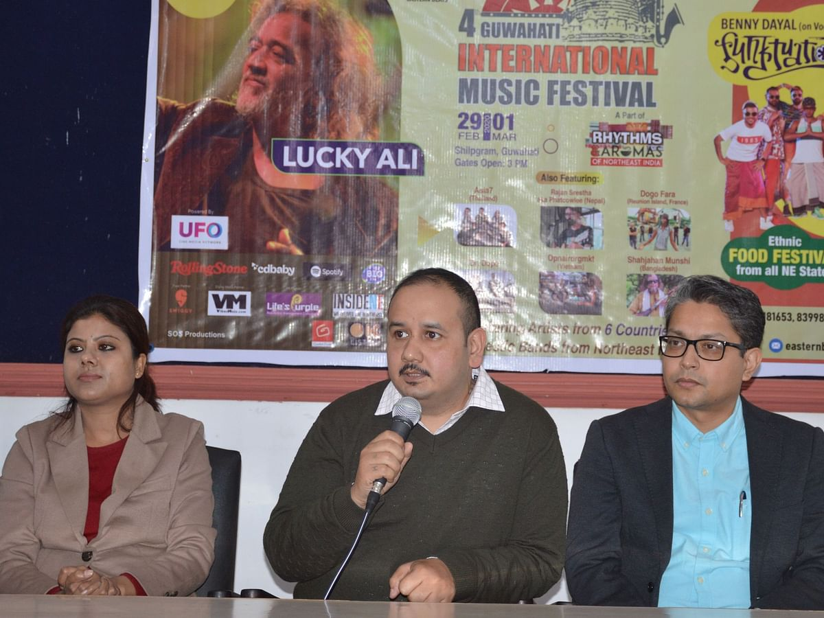 Assam: Intl music fest in Guwahati from Feb 28