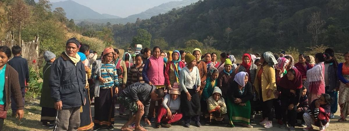 The Mapithel Dam-affected locals are demanding forest rights, fishing rights and economic livelihood package, among others, from the Manipur government