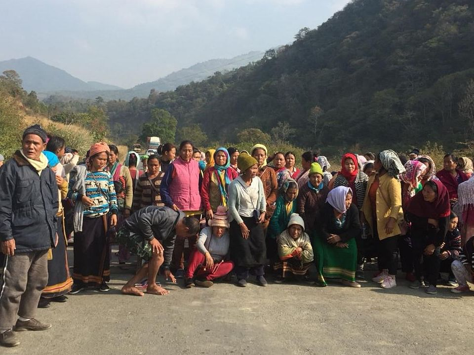 Manipur: 4 Mapithel Dam protesters injured during 48-hour shutdown