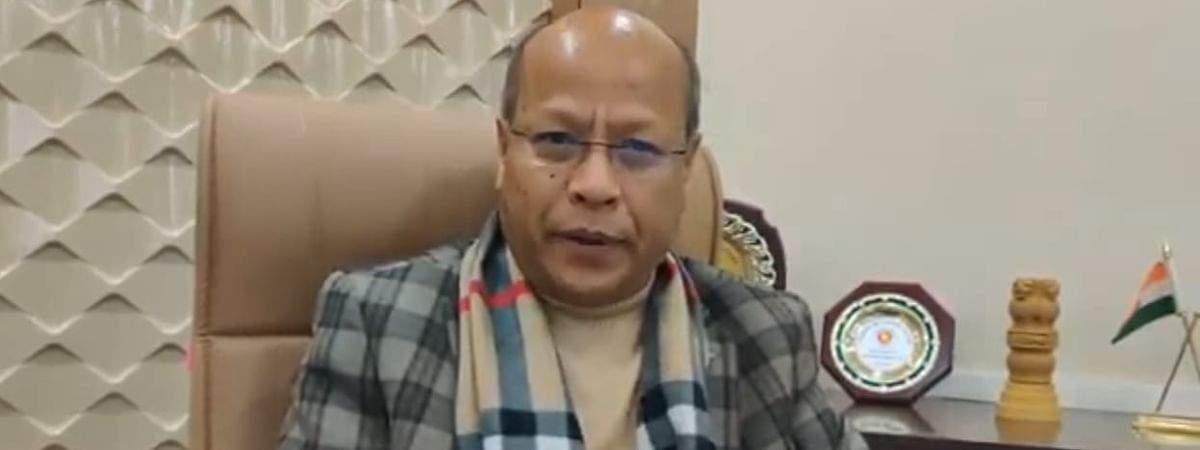 National People's Party (NPP) national vice-president and Meghalaya deputy chief minister Prestone Tynsong
