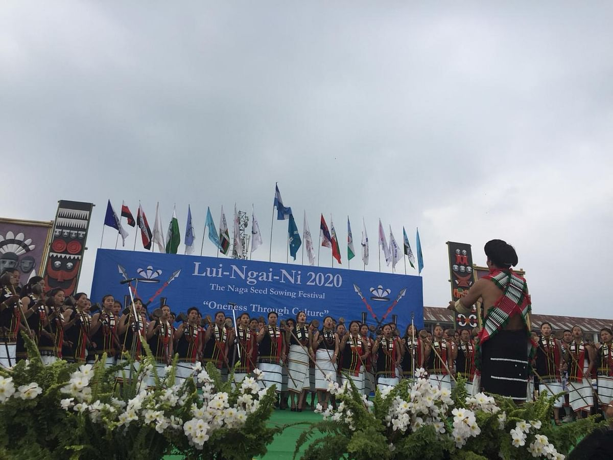 Over 2,000 Nagas are participating in the Lui-Ngai-Ni 2020 festival this year