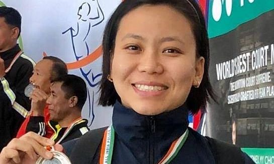 Sikkim's first lady IPS  shines at national police badminton meet
