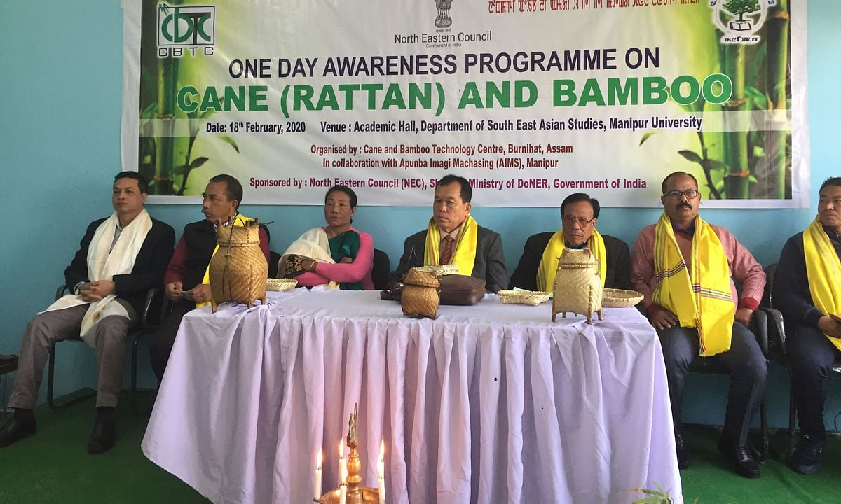 Manipur: Science to be incorporate into bamboo & cane cultivation