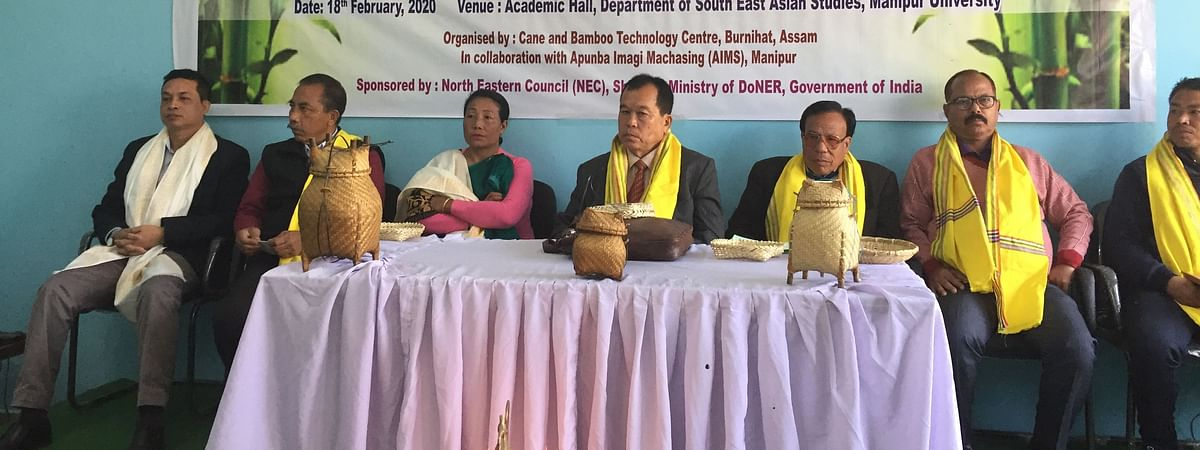 One day awareness programme on Cane (Rattan) and Bamboo held at Manipur University on Tuesday