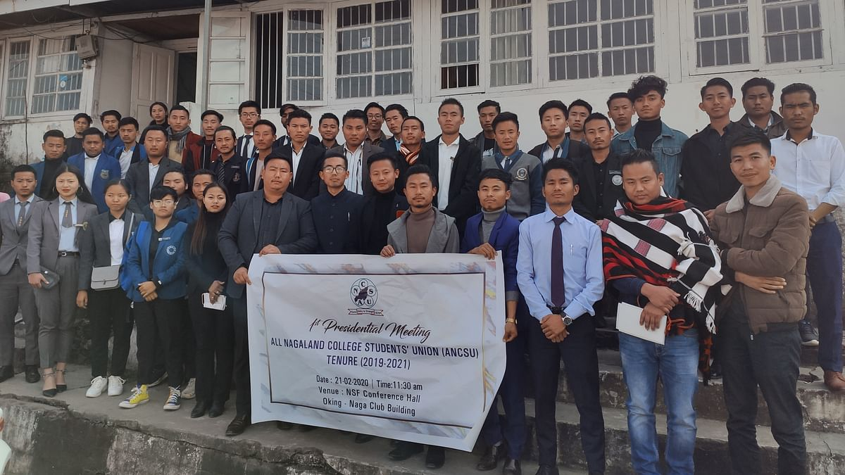 Nagaland college students' body serves 40-day ultimatum to govt