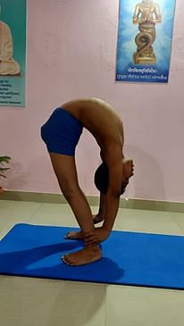 Ashim Baruah started his yogic career since six years of age