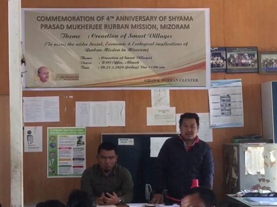 Mizoram: Rs 15 cr sanctioned for tribal area development in state