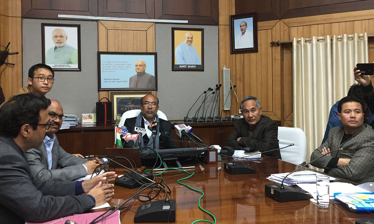 'e-Kuber' to ease disbursement of govt payments: Manipur CM