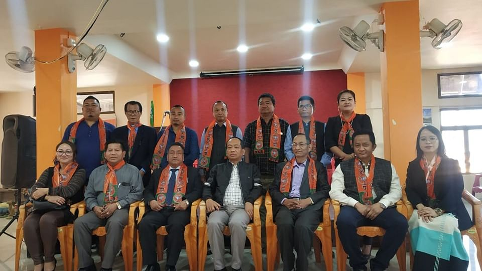 Mizoram BJP elects new office bearers of the party