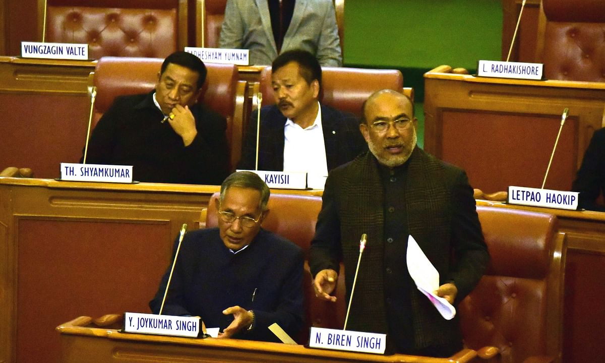 Manipur CM N Biren Singh presented the budget estimates for 2020-2021 on Friday