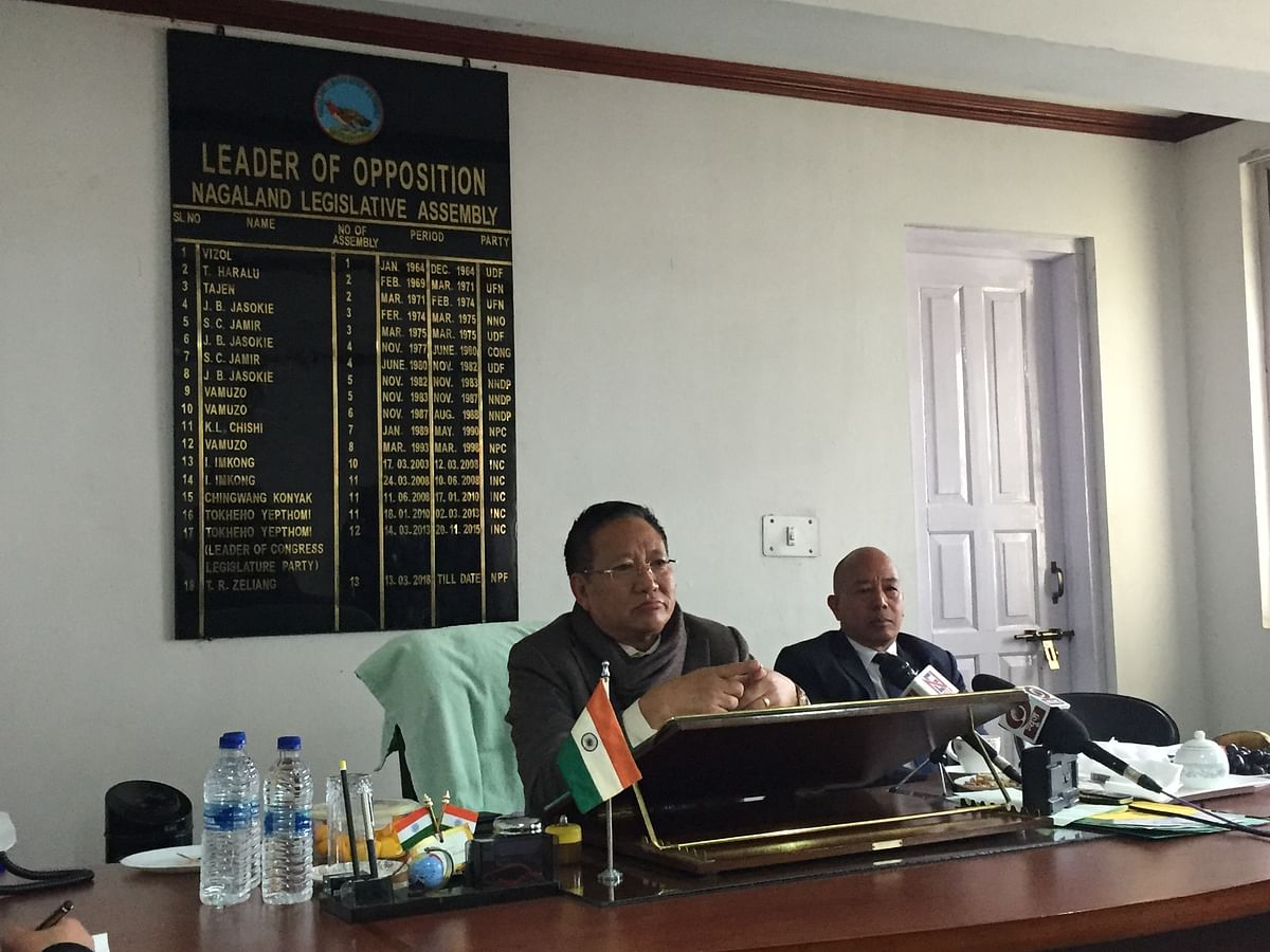 Nagaland: NPF asks govt to clarify stand on security interest act