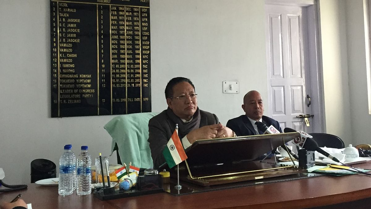 Nagaland Oppn leader seeks 3-day business session during Assembly