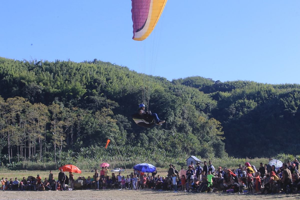 At present, there are eight Mizo pilots who have completed 'Advanced course in paragliding'