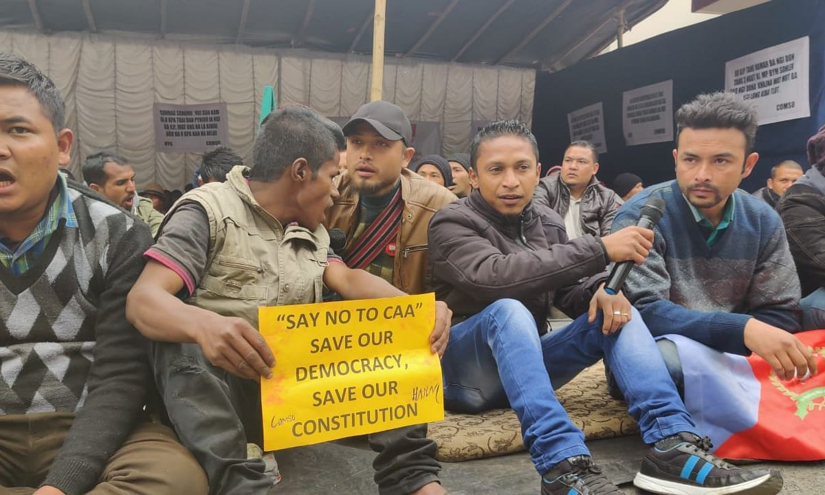 Meghalaya: CoMSO ends sit-in protest, to take steps to curb influx