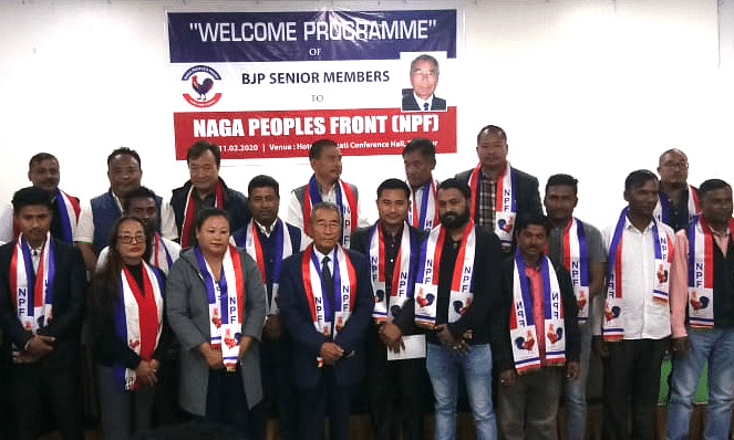 Nagaland BJP faces CAA shocker as 22 party leaders join oppn NPF