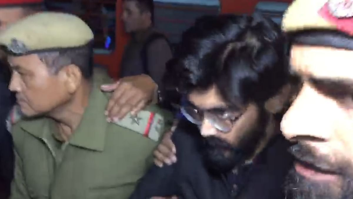 Sharjeel Imam was brought to Guwahati to be interrogated in a sedition case registered against him for his controversial speech delivered during anti-CAA protests