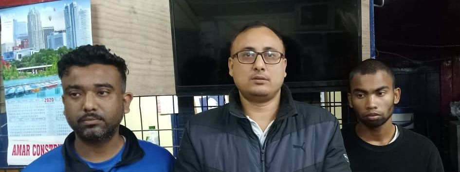 The youths have been identified as Debojit Hazarika (37), Arup Kaha (24) and Vicky Sonar (20) -- all residents of Duliajan in Assam