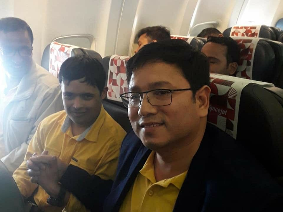 Arunachal doctor hailed for saving young passenger's life mid-air