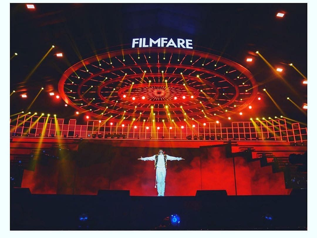 IN PHOTOS: Stage is set for Filmfare Awards gala night in Guwahati