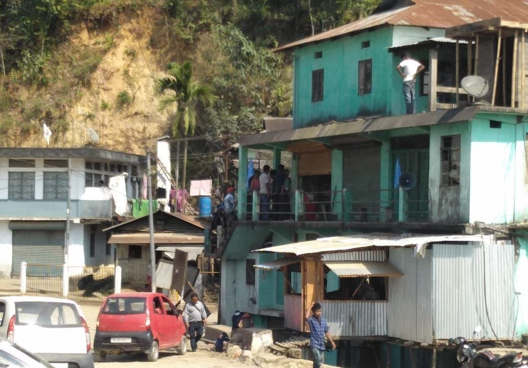 Curfew has been re-imposed at Lumdienjiri and in areas under Sadar Police Station in Shillong on Saturday morning