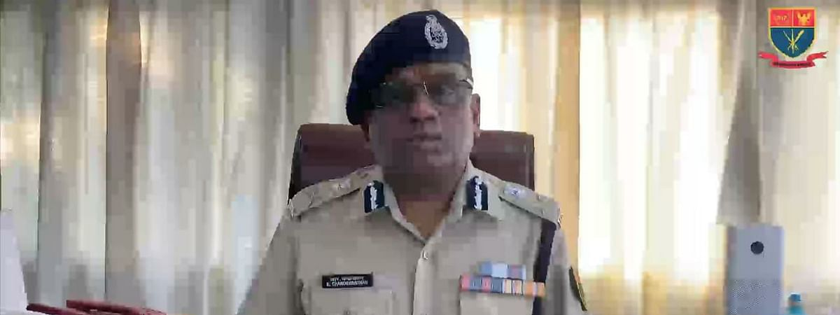 Director General of Police, Meghalaya, R Chandranathan sends a message to the citizens of Meghalaya on Saturday amid the Covid-19 pandemic