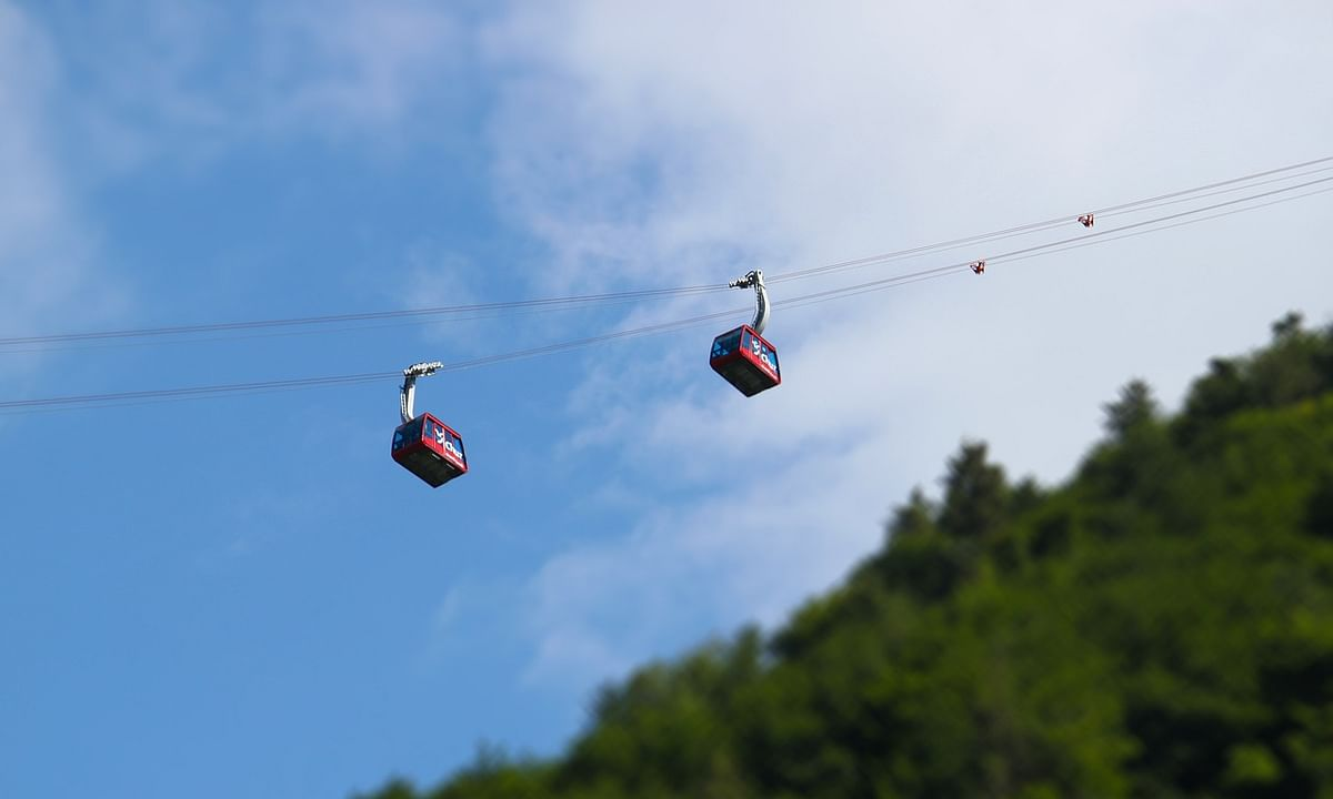 Ropeway connecting Guwahati-North Guwahati to be opened in a month