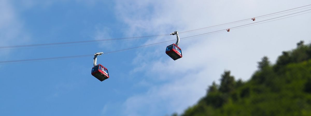 The Assam state government has approved Rs 5 crore for operation and maintenance of the Guwahati-North Guwahati ropeway