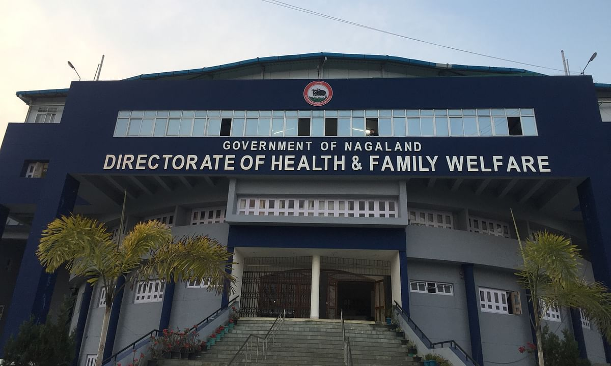 The directorate of health and family welfare in Kohima