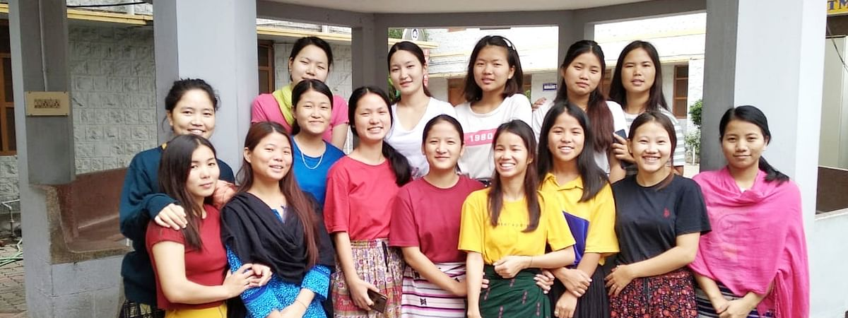Arunachal students of Avinashilingam Home Science College for Women in Coimbatore