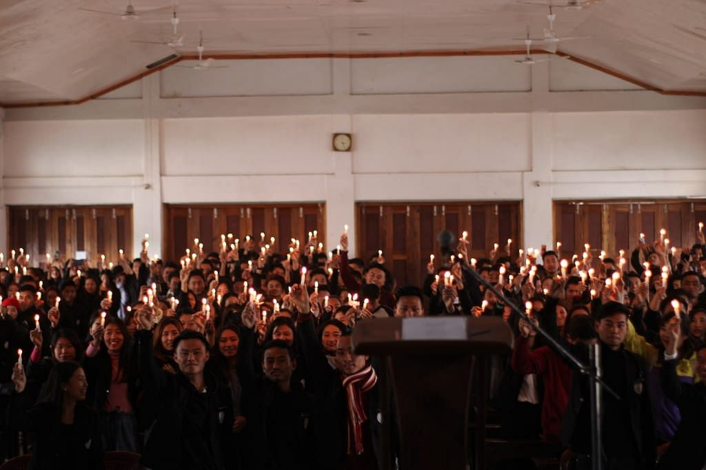 The vigil was observed to highlight issues and matters confronting the students' community