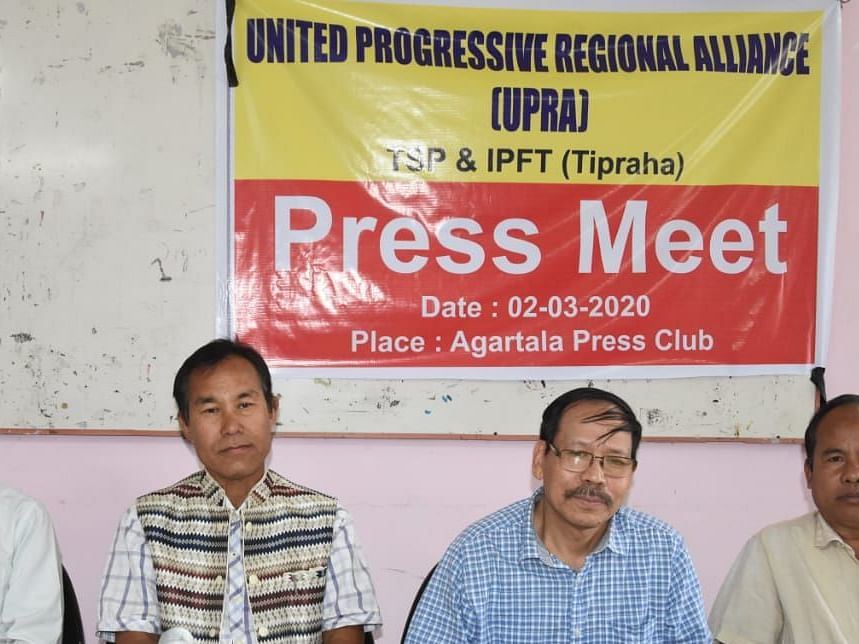 Tripura parties form alliance to fight tribal council elections