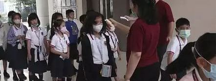 The students and the teachers entering the classrooms shall have to wash their hands properly before entering into the examination centres, govt said