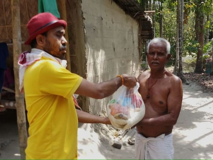 COVID-19: How these Assam youths are providing food to needy ones