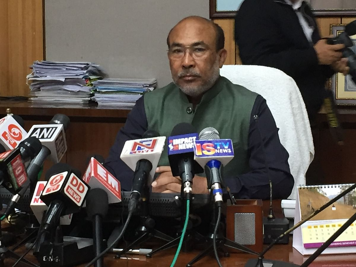 Centre's Rs 20 lakh crore economic package a bold step: Manipur CM