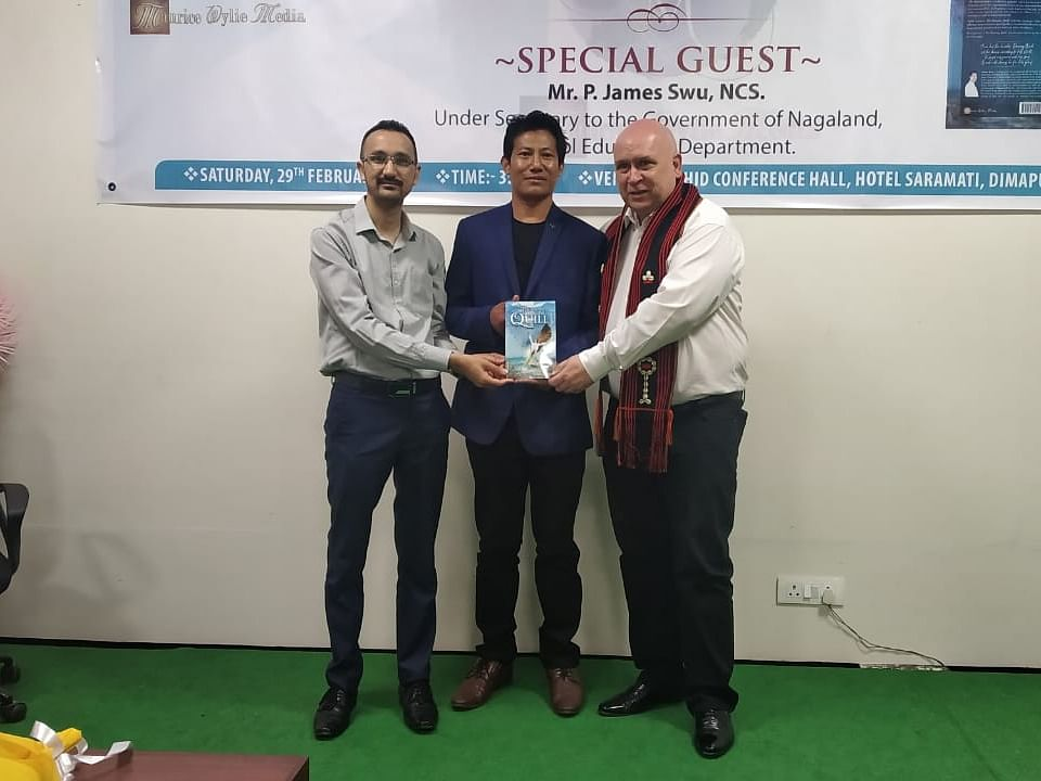Nagaland writer A Anato Swu releases maiden poetry book