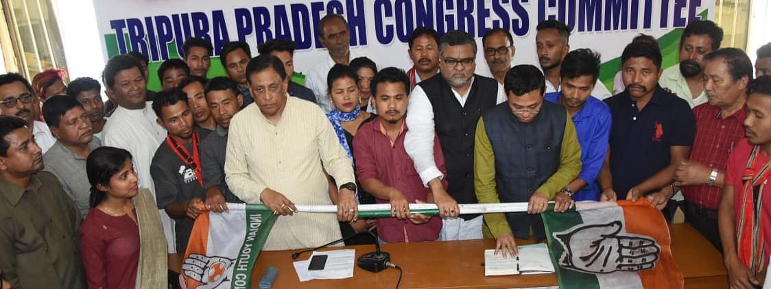 Altogether 2,345 supporters, some of them are senior level leaders, of Indigenous Peoples Front of Tripura (IPFT) and CPI-M joined Congress party on Monday