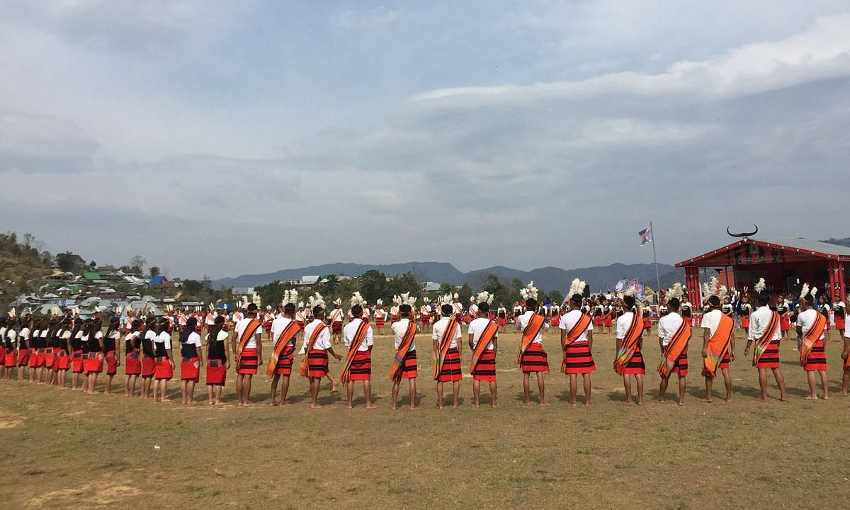 COVID-19 threat? Manipur villagers come together for mega festival