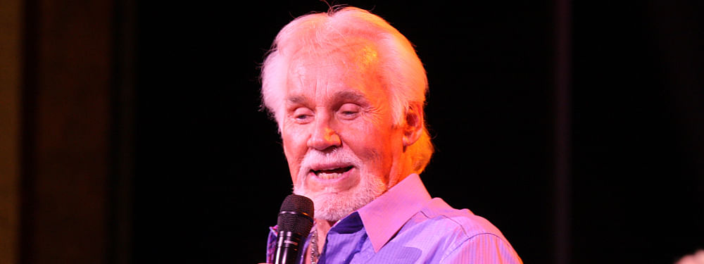 Country music icon Kenny Rogers