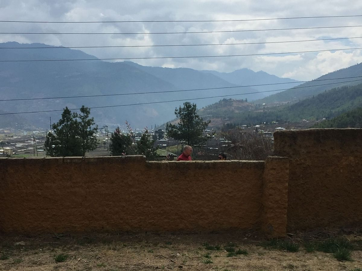 Relax, chill and meditate -- that's what the author decided to do during the 14 days of her quarantine period at a facility near Paro in Bhutan