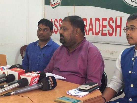 Assam Cong accuses BJP of ignoring corruption in hill districts