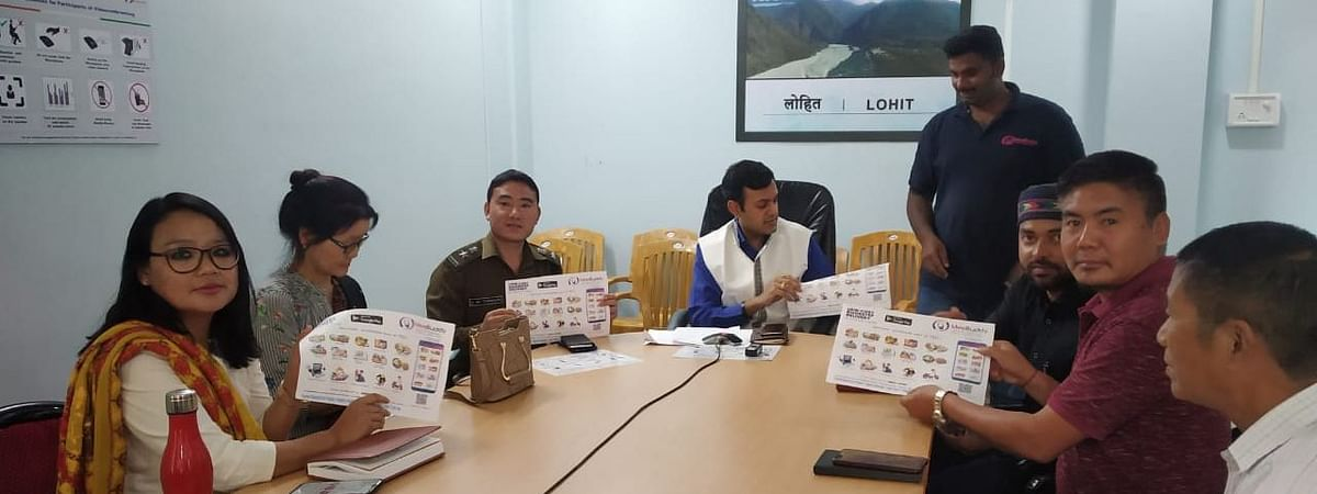 <i>Mee Buddy</i> app being launched in Lohit district of Arunachal Pradesh