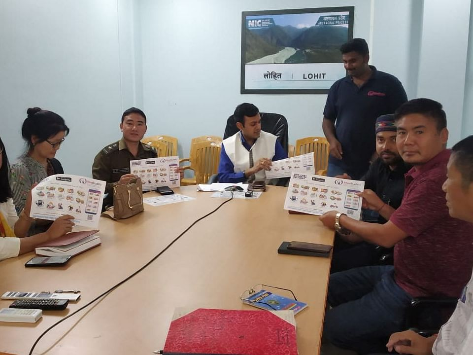 COVID-19: MeeBuddy app launched for doorstep delivery in Arunachal