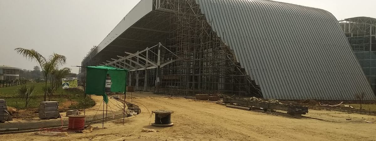 The new terminal building will be ready before Durga Puja in September this year