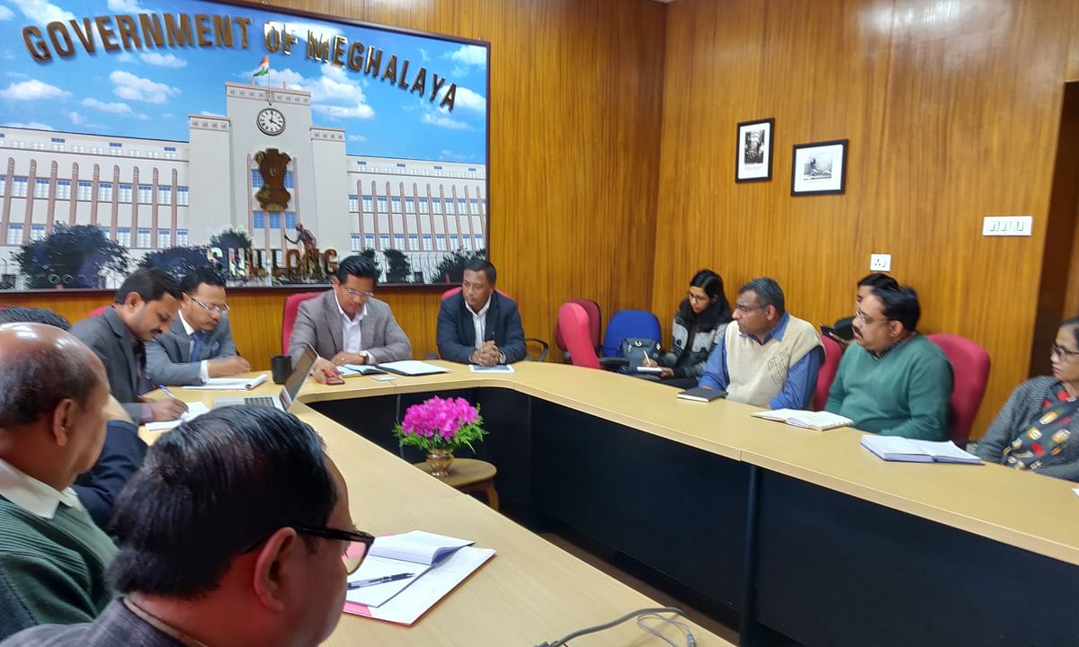 COVID-19: Meghalaya CM holds video conference with dist officials