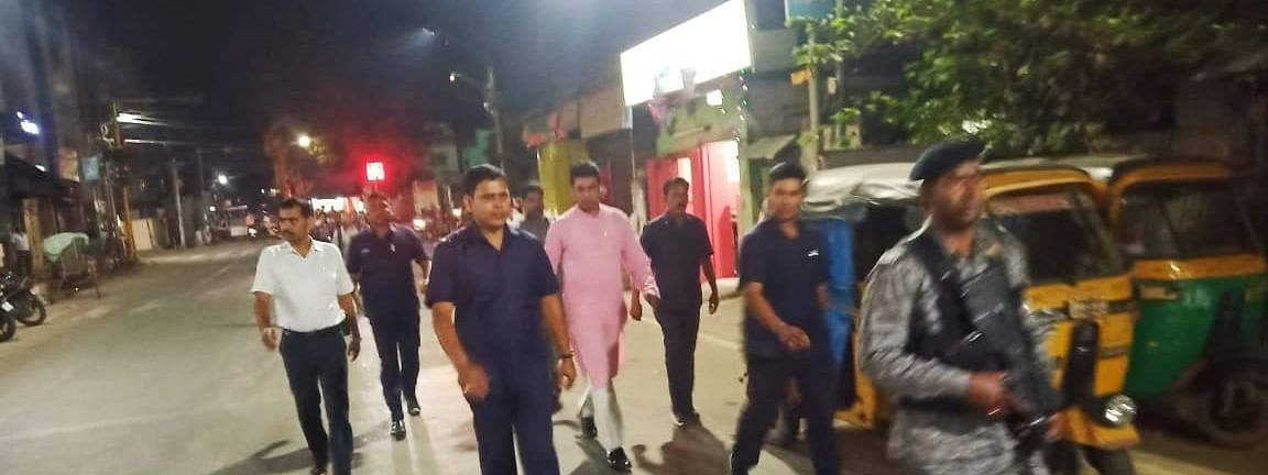Tripura chief minister Biplab Kumar Deb took everyone by surprise after he started to walk back home, which is about 5 km from his office in Agartala, on Tuesday night